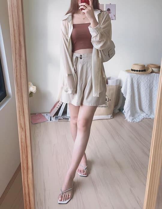 【預購】東大門款.知性女子的日常百搭套裝三件組