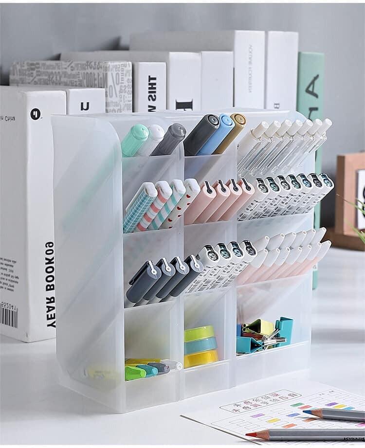 【預購】韓系家居.多功能桌面收納盒~2色