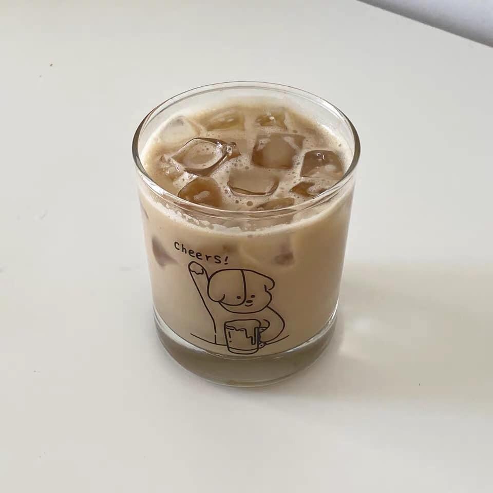 【預購】韓IG同款 cheers!療癒系玻璃杯