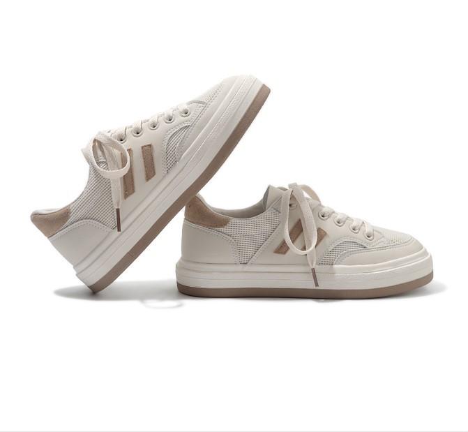 【預購】有點日系的.百搭撞色休閒鞋~3色(35~40)
