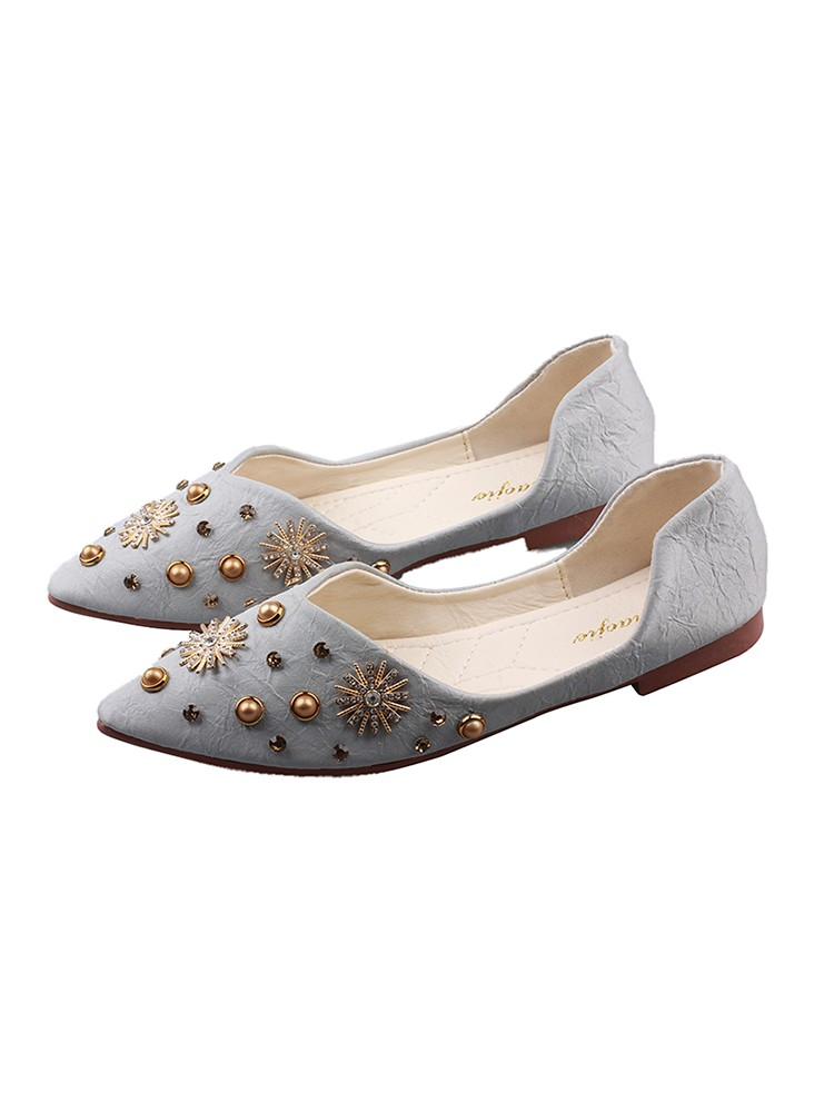 【現貨】美翻!百搭好穿的尖頭平底鞋