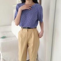 【韓製.預購】0313-達蓮娜的溫柔小日常針織~4色
