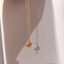 【預購】可愛的小玫瑰項鍊