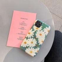 【預購】文藝風 油畫雛菊 Iphone手機軟殼