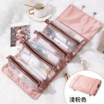 【預購】收納好物推薦!可攜式可吊掛摺疊旅行化妝包~6色