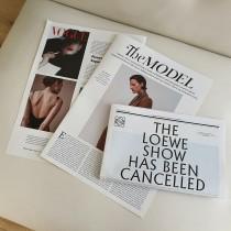 【預購】IG同款 時尚部落客 英文報紙拍照道具 擺拍道具~3款一組