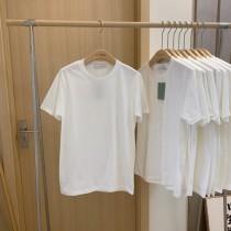 【預購】日常最百搭!衣櫃必備的歐美感 100%純棉白Tee(S~3XL)