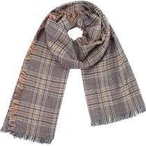 【預購】英倫風柔和格紋大圍巾~2色