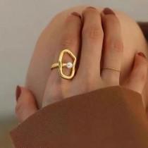 【預購】你是我眼裡的一顆珍珠.法式高級感戒指指環