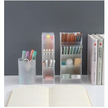 【預購】韓系家居.簡約實用收納筆筒~2色