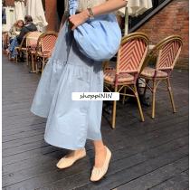 【預購】可正式可休閒!挺版 顯瘦雲朵長裙~2色