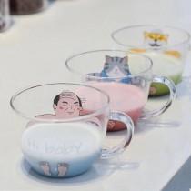 【預購】泡澡水?你來決定!泡澡系列玻璃杯之阿北回來了~3款