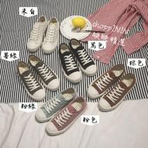 【預購】NO.3 35~43號男女可穿!超百搭絨面餅乾鞋~6色