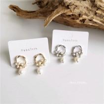 【預購】韓設計款氣質珍珠925銀針耳環耳夾~3款