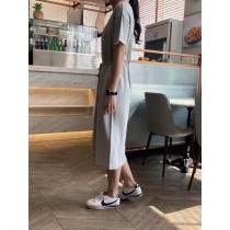 【韓製.預購】一件出門的法式優雅風綁帶洋~3色
