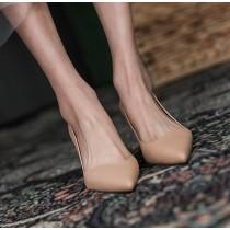 【預購】法式極簡.好版型經典款 素面尖頭高跟鞋~2色(34~39)