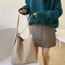 【預購】就是喜歡簡單百搭好裝的托特包(子母包)~2色