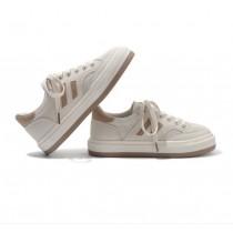 【預購】有點日系的.百搭撞色休閒鞋帆布鞋~3色(35~40)