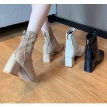【預購】鞋櫃一定要有一雙的.超百搭 軟皮瘦瘦靴~3色(35~40)