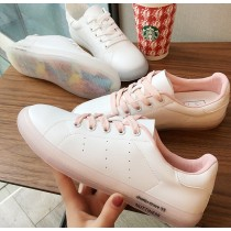 【預購】亮點在鞋底.簡約百搭必備款小白鞋~2色