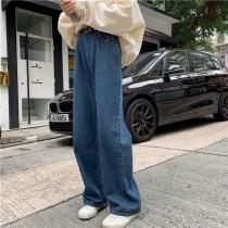 【預購】For長腿女子的長牛仔寬褲