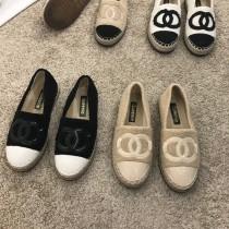 【預購】秋冬升級薄絨版小香風漁夫鞋~6色(35~40)