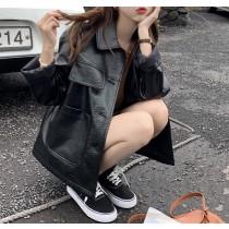 【預購】率性女子的皮衣外套