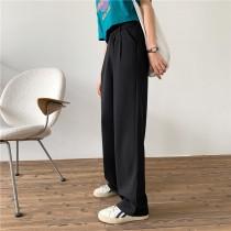 【預購】全新改版!垂感超好 熱賣好評款西裝微寬褲~3色(S~XL)