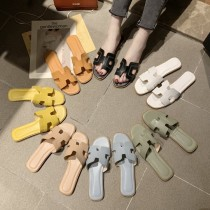 【預購】廠商回饋款!多色系百搭H字母拖鞋~7色(35~41)