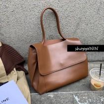 【預購】韓IG同款 簡約優雅風 大容量手提包~2色