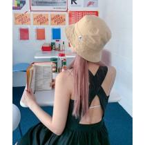 【預購】今天想當個小可愛!百搭款 日系漁夫帽盆帽~6色
