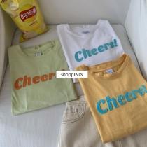 【預購】闆娘想包色!設計款 繽紛色系短袖Tee~3色