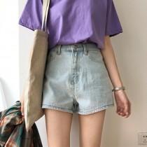【預購】閉著眼睛都能搭配!夏天必備款牛仔短褲~2色