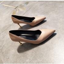 【預購】法式優雅風貓跟跟鞋~4色