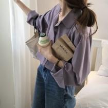 【預購】衣櫃必備!法式高級感百搭雪紡襯衫~4色