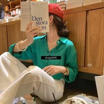 【預購】知性女子專用.天絲棉 超薄款百搭長版襯衫~4色