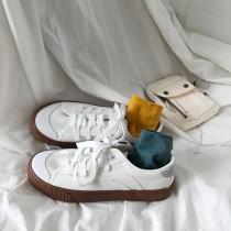 【預購】巧克力餅乾系帆布鞋小白鞋