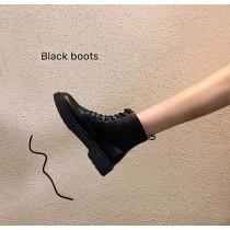 【預購】必備款!百搭款英倫風綁帶馬丁靴
