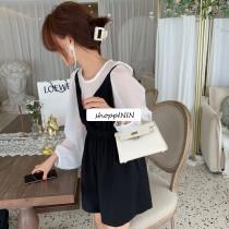 【預購】知性女子請收下!不用擔心搭配的法式質感套裝~2色