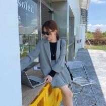 【預購】春天穿到秋天!橫跨三季 質感千鳥格西裝套裝