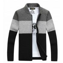 【預購】英倫 暖男風撞色針織毛衣外套~6款