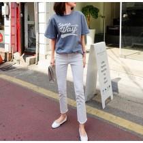 【預購】春夏超實穿!歐膩愛的薄款彈力直筒褲~4款(25~31腰)