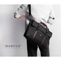 【預購】遊走都市.防水男款公事包手提包~2色