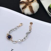 【預購】森林女孩.復古藍珠手鍊