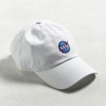 【預購】歐美街頭風NASA刺繡棒球帽老帽~2色