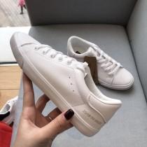 【預購】好穿的小白鞋永遠不嫌多!簡約百搭皮質小白鞋~2色