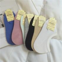 【預購】外銷日本!防滑落船型隱形棉襪~5色