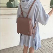 【預購】文藝風.顏色超美的百搭款後背包~2色