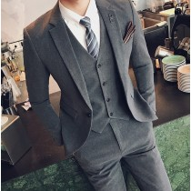 【預購】韓版 簡約商務風西裝套裝~4色
