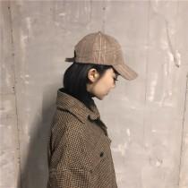 【預購】日系文藝風格紋老帽~3色